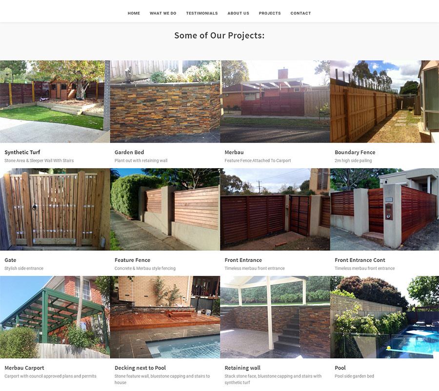tradie list projects online