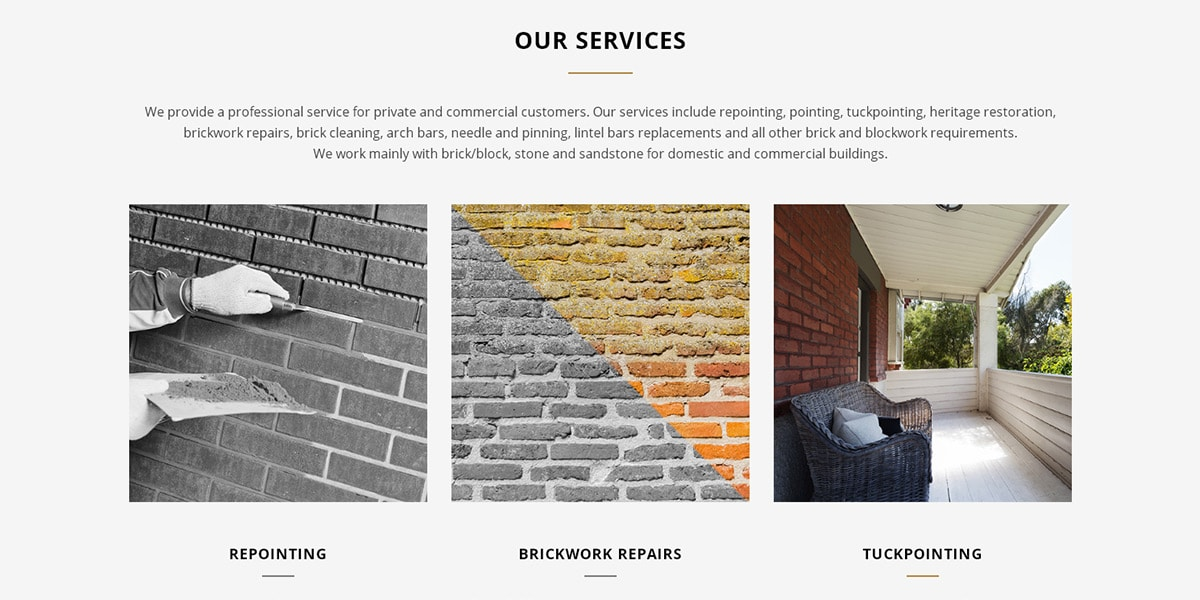 Tradesman website