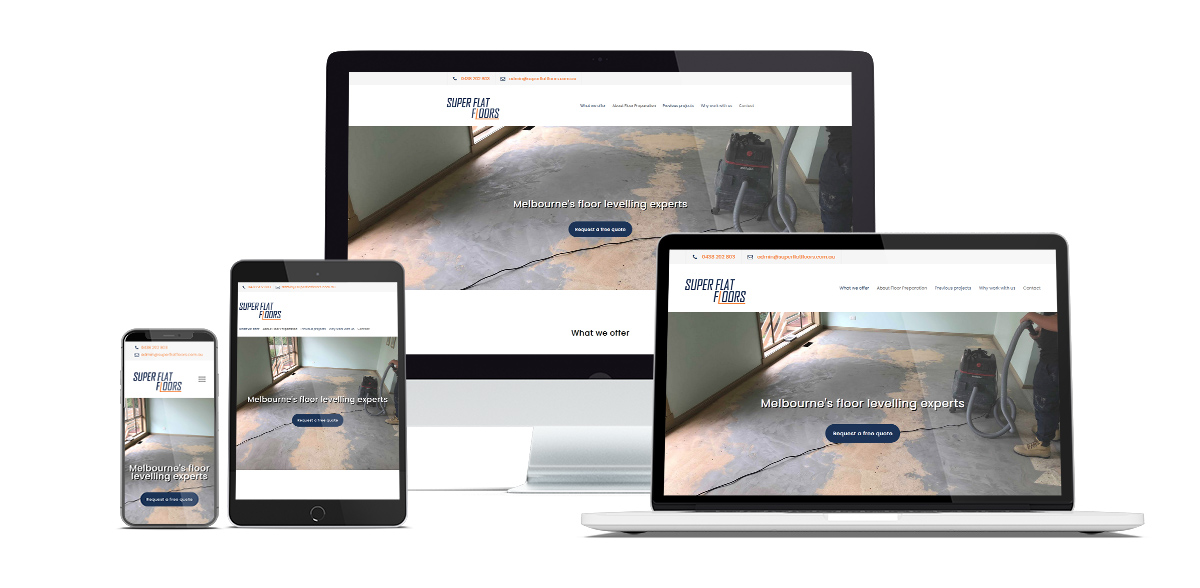 Tradie website case study