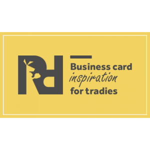 Tradie Business Cards